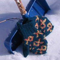 Fish Mittens Pattern